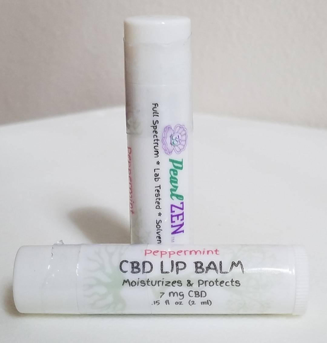 CBD Peppermint Lip Balm